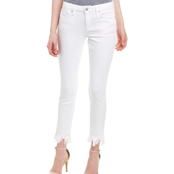 046b16895749 Joe's Jeans Jeans | Joes 28 White Icon Chastity Crop Frayed | Poshmark